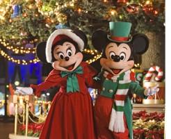 77クリスマスにディズニー