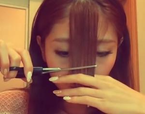 前髪シースルー9