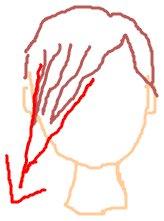 斜め前髪1
