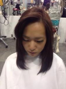 かきあげ前髪8