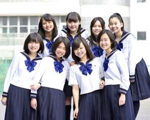 中学女子3