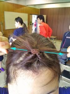 前髪ピン11