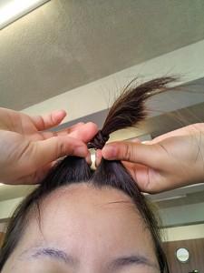 前髪ピン8