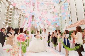母の日結婚式10