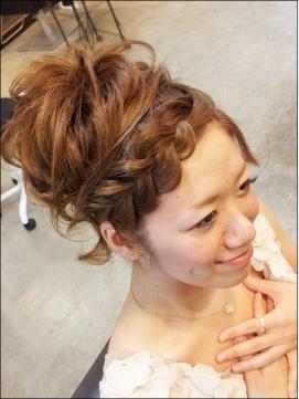 前髪編み込み12