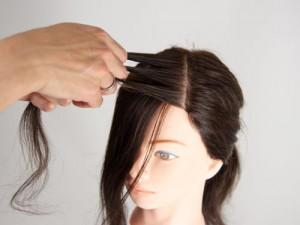 前髪編み込み2