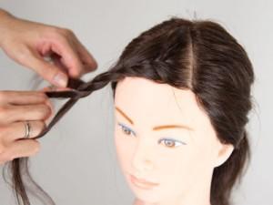前髪編み込み5