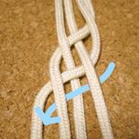 平四つ編み4