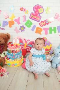 1歳誕生日14
