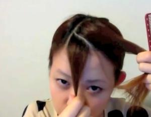 斜め前髪2