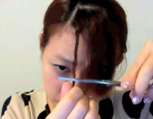 斜め前髪9