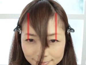 眉上前髪4