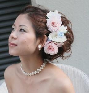 花嫁髪飾り3