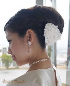 花嫁髪飾り6