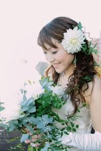 花嫁髪飾り7
