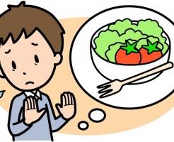 野菜嫌い主人2