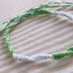 輪結びのミサンガの簡単な作り方!